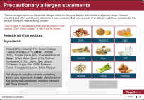 food allergen elearning