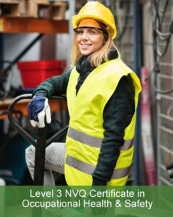 nvq health and safety